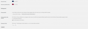 Maintenance Mode Options Page - Bottom